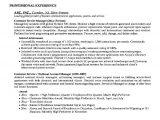 Sample Resume for Customer Care Executive Sample Resume Customer Care Executive Free Samples