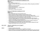 Sample Resume for Customer Service Representative In Bank Bank Customer Service Representative Resume Samples