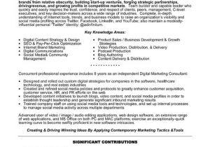 Sample Resume for Digital Marketing Manager Digital Marketing Specialist Resume Sample Template
