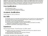 Sample Resume for Disability Support Worker Personal Support Worker Cv Sample Myperfectcv