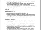 Sample Resume for Drug and Alcohol Counselor Counseling Resume Resume Badak