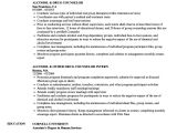Sample Resume for Drug and Alcohol Counselor Drug Counselor Resume Samples Velvet Jobs