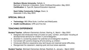 Sample Resume for Early Childhood Educator Early Childhood Education Resume Samples Sample Resumes