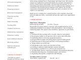 Sample Resume for English Teachers Teacher Resume 9 Free Sample Example format Free