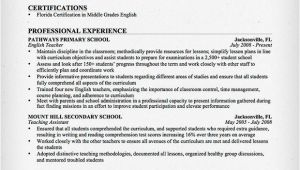 Sample Resume for English Teachers Teacher Resume Samples Writing Guide Resume Genius
