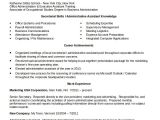 Sample Resume for Executive assistant to Senior Executive 10 Administrative assistant Resume Templates Pdf Doc