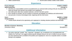 Sample Resume for Experienced Experienced Resume Templates to Impress Any Employer