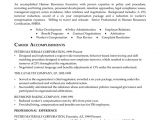 Sample Resume for Experienced Hr Executive Hr Executive Resume Example
