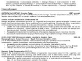 Sample Resume for Experienced Hr Executive Resume Sample 11 International Human Resource Executive