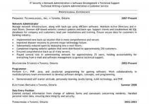 Sample Resume for Experienced Network Administrator Network Administrator Resume Sample Template