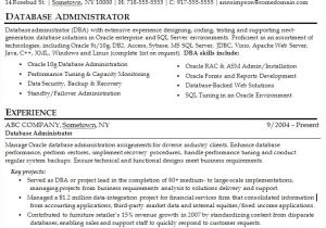 Sample Resume for Experienced Network Administrator Resume format for Experienced System Administrator