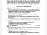 Sample Resume for Experienced Sales Professional Experience On A Resume Template Learnhowtoloseweight Net