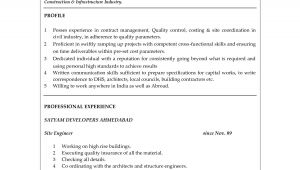Sample Resume for Fresh Graduate Civil Engineering Civil Engineer Resume Sample Objective In Resume for Fresh