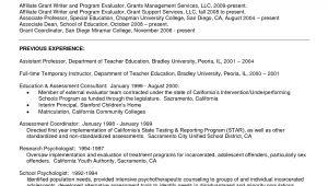 Sample Resume for Fresh Psychology Graduate Sample Resume Psychology for Graduate School Resume