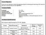 Sample Resume for Fresher Computer Science Engineer Over 10000 Cv and Resume Samples with Free Download Be