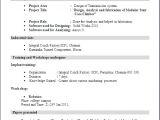 Sample Resume for Fresher Mechanical Engineering Student Sample Resume for Fresher Mechanical Engineering Student
