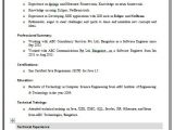Sample Resume for Freshers Engineers Computer Science Resume format for Computer Science Engineering Students