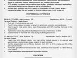 Sample Resume for Gym Instructor Personal Trainer Resume Sample Writing Tips Resume