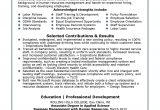 Sample Resume for Hr Recruiter Position Resume for Hr Recruiter Position Sidemcicek Com