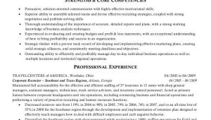 Sample Resume for Hr Recruiter Position Sample Resumes Hr Recruiter or Human Resources Recruiter