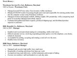 Sample Resume for Inventory Clerk Inventory Clerk Job Description for Resume Resume Ideas