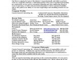 Sample Resume for It Companies Company Resume