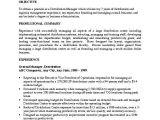 Sample Resume for Managing Director Position Sample Resume Management Position the Letter Sample