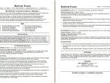 Sample Resume for Marketing Executive Position Marketing Communications Manager Resume Sample Monster Com