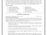 Sample Resume for Marketing Executive Position Sales and Marketing Resume Sample Page 1 Resume Writing