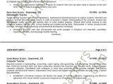 Sample Resume for Maths Teachers Math Teacher Resume Example