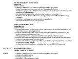 Sample Resume for Microbiologist Qc Microbiology Resume Samples Velvet Jobs