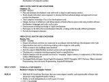 Sample Resume for Mid Level Position Mid Level software Engineer Resume Samples Velvet Jobs