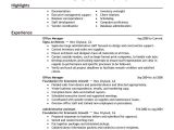 Sample Resume for Office Administration Job Best Office Manager Resume Example Livecareer