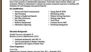 Sample Resume for Office assistant with No Experience Office assistant Resume No Experience Free Samples