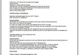 Sample Resume for Older Job Seekers Job Seekers Resumes the Best Insurance Sales Jobs