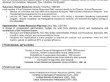Sample Resume for Overseas Jobs Resume Sample 8 International Human Resource Executive