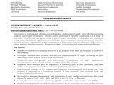 Sample Resume for Paraprofessional Position Sample Resume Paraprofessional Sample Resume