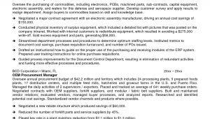 Sample Resume for Procurement Officer Sample Resume for Procurement Officer Resume Ideas