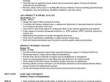 Sample Resume for Production Support Analyst Product Support Analyst Resume Samples Velvet Jobs