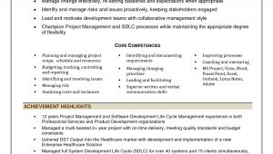 Sample Resume for Project Manager It software India software Project Management Resume Resume Ideas