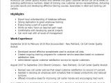 Sample Resume for Quality Analyst In Bpo Call Center Quality Analyst Resume Template Best Design