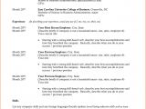 Sample Resume for Recent College Graduate with No Experience Resumes for College Graduates with No Experience