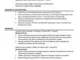 Sample Resume for Registered Nurse Position Registered Nurse Resume Sample Chegg Careermatch