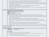 Sample Resume for Sap Abap 1 Year Of Experience Sample Resume for Sap Abap 1 Year Of Experience Perfect