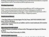 Sample Resume for Sap Fico Consultant Sap Fico Professional Resume