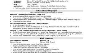 Sample Resume for software Engineer with 2 Years Experience Sample Resume for software Engineer with 2 Years