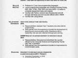 Sample Resume for software Engineer with One Year Experience Electrical Engineer Resume Sample Resume Genius