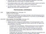 Sample Resume for software Engineer with One Year Experience Resume Sample for A Senior software Engineer Susan
