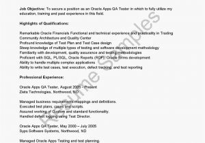 Sample Resume for software Tester 2 Years Experience Testing Resume for 2 Years In Experience Resume Ideas