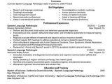Sample Resume for Speech Language Pathologist Slp Resume Examples Project Scope Template